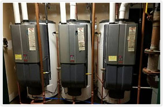 Commercial Water Heater Install